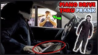 Download Michael Myers Plays Piano in Drive Thru Prank!! Video