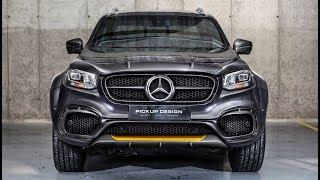 Download 2018 Mercedes X-Class Exy Urban x470 by Design Pickup Carlex Design Video