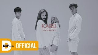 Download K.A.R.D - Don`t Recall M/V Video