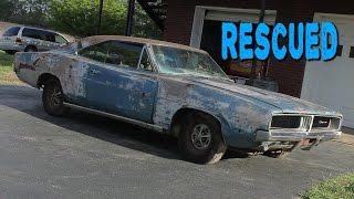 Download ABANDONED 1969 Dodge Charger Sitting for 20 Years Video