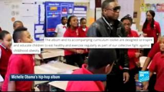Download Michelle Obama raps to combat obesity Video