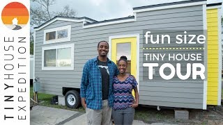 Download Tiny House Tour: The Fun Size House Video
