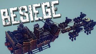 Download SANTA'S SLEIGH - Besiege Alpha Sandbox Video