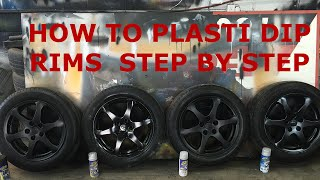 Download How to Plasti Dip Rims - Step By Step (Walk Through) Video