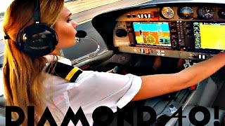Download FIRST SOLO FLIGHT Diamond 40 Aircraft | Arizona ✔ Video