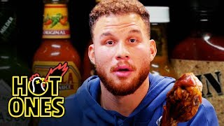 Download Blake Griffin Gets Full-Court Pressed By Spicy Wings | Hot Ones Video