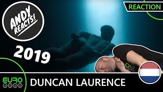 Download THE NETHERLANDS EUROVISION 2019 REACTION: Duncan Laurence - 'Arcade' | ANDY REACTS! Video