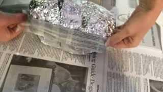 Download Mask Step 2: Paper Mache Video