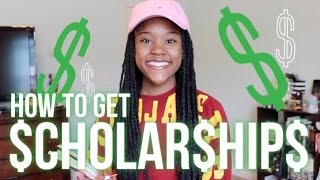 Download How to Get Scholarships for College! FULL RIDES, Local Scholarships, Application Tips! Video