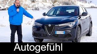 Download Alfa Romeo Stelvio FULL REVIEW test driven all-new SUV 2.0t 280hp neu - Autogefühl Video