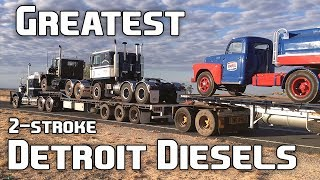 Download 9 Of The Greatest 2-Stroke Detroit Diesel Engines Ever Video