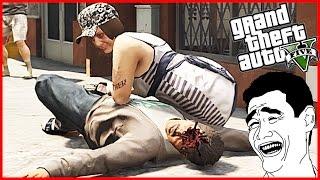 Download GTA 5 Crazy Brutal Kill Funny Moments/Euphoria Ragdoll Physics MOD(GTA V Gameplay) Video