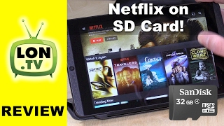 Download How to Download Netflix to SD Card and Beat Data Overages ! Video