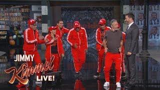 Download Jon Stewart Surprises Audience with Jimmy Kimmel & Matt Damon Video Video
