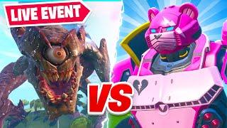 Download Fortnite *LIVE* Monster VS Robot Final Showdown Event! Video