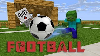 Download Monster School : FOOTBALL CHALLENGE - Minecraft Animation Video