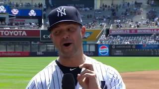 Download ″Super nervous″ Nick Swisher on Yankees Old-Timers' Day Video
