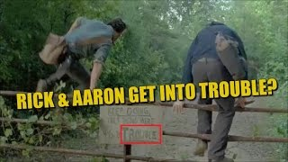 Download The Walking Dead Season 7 Episode 7 Preview Rick & Aaron Get Into Trouble? Negan Back to Alexandria? Video