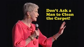 Download Jeanne Robertson | Don't Ask a Man to Clean the Carpets! Video