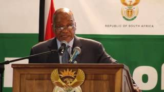 Download President Jacob Zuma launches the 16 Days of Activism campaign Video