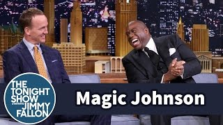 Download Magic Johnson Pressures Peyton Manning to Join the L.A. Rams Video