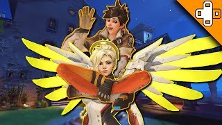 Download MERCY PIGGYBACK RIDES! - Overwatch Funny & Epic Moments 296 - Highlights Montage Video