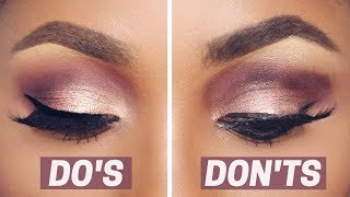 Download EYESHADOW DO'S AND DON'TS | DIMMA UMEH Video