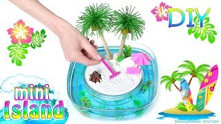 Download How To Make A Miniature Island In Ocean Zen Garden – DIY Stress-Relieving Desk Decoration Video