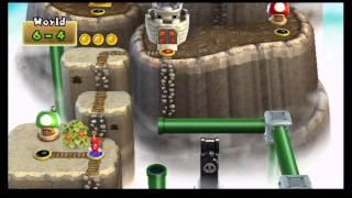 Download New Super Mario Bros. Wii 100% World Record Speed Run (3:34:50) Video