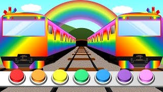 Download Color train for Kids | Learn colors | 踏切こどもアニメ Video