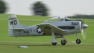 Download T-28 Trojan 9cyl. 1500hp RADIAL ENGINE | AWESOME SOUND ! Video