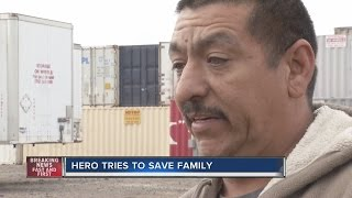 Download Neighbor tries to save family in North Las Vegas fire Video
