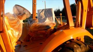 Download Painting The Case 580K Backhoe Video