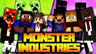 Download Minecraft 3v3 MONSTER INDUSTRIES #1 with The Pack Video
