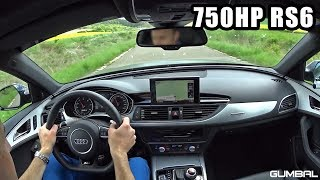 Download ONBOARD in a 750 HP Audi RS6 Avant C7 PP Performance Video