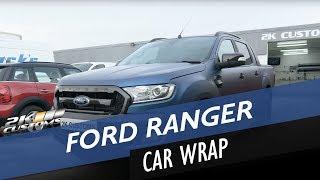 Download Ford Ranger transformation - full wrap including door shuts, hydrodipping in carbon and more! Video