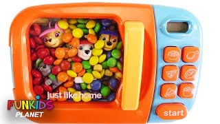 Download Learning Colors Videos for Kids: Paw Patrol Skye & Chase Stuck in Magical Microwave Cars & M&Ms Video