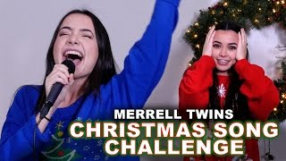 Download Christmas Song Challenge - Merrell Twins Video