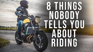 Download 8 Things Nobody Tells You About Riding Motorcycles Video