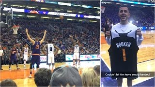 Download FRONT ROW SEATS AT SUNS GAME! (Suns give me gifts!) Video