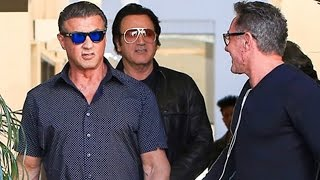 Download Sylvester Stallone Is Super Cool In Beverly Hills Video