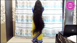 Download ILHW Rapunzel Deepa Knee Length Hair Play & Huge Bun Squeezing at the end Video