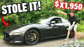 Download How Much Was My Maserati?? You Won't Believe It! Video