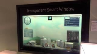 Download Samsung Transparent Smart Window Video