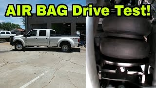 Download Air Lift Load Lifter 5000 Airbags, First drive impression! Video