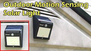Download Solar Powered Motion Sensing 12 LED Waterproof Light - Innoo Tech Video