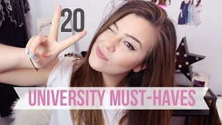 Download 20 THINGS YOU NEED TO GET FOR UNIVERSITY | AD Video
