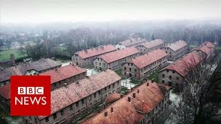 Download Auschwitz: Drone video of Nazi concentration camp - BBC News Video