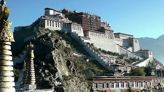 Download Potala Palace, Lhasa, Tibet, China in HD Video