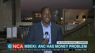 Download ANC has money problem, says Mbeki Video